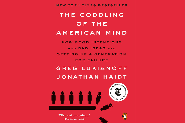 Preorder now: 'The Coddling of the American Mind' available in paperback Aug. 20