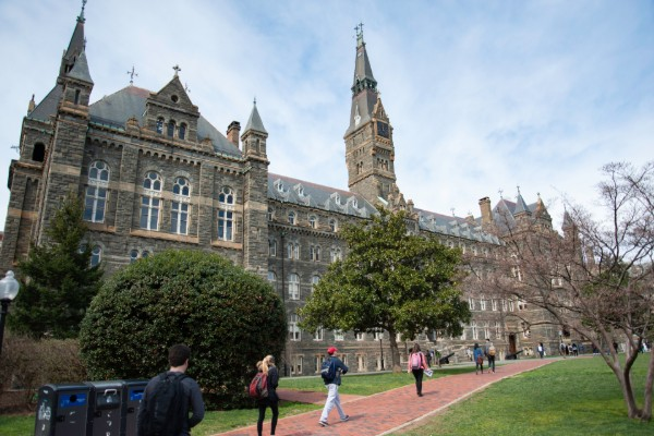 Another heckler's veto at Georgetown: Clown and crew disrupt climate policy event