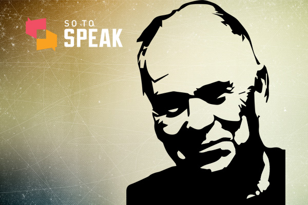 So to Speak podcast: There's no such thing as free speech, argues professor Stanley Fish