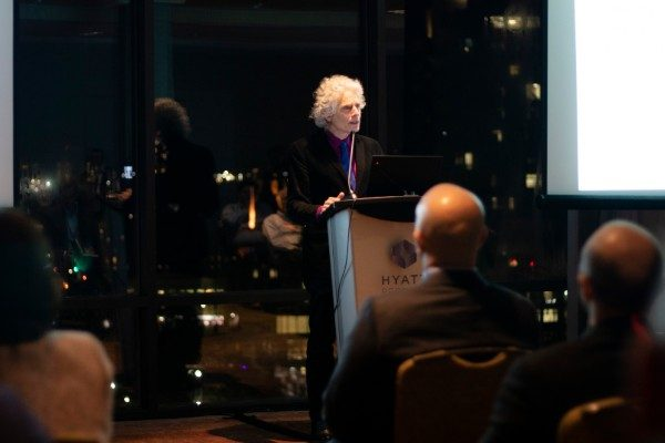 Steven Pinker delivers the keynote address at FIRE's 2019 Faculty Conference in Boston.