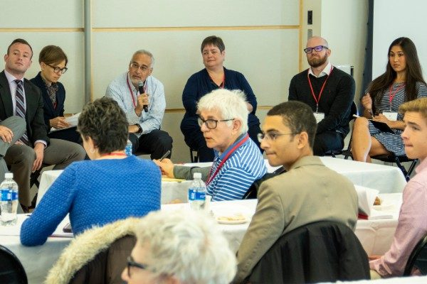 Attendees at FIRE's 2019 Faculty Conference at Boston University.