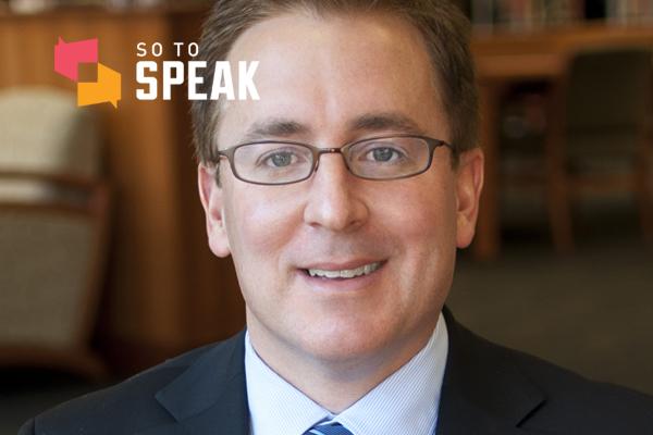So to Speak podcast: 'The First Amendment in the Trump Era' w/ Professor Timothy Zick