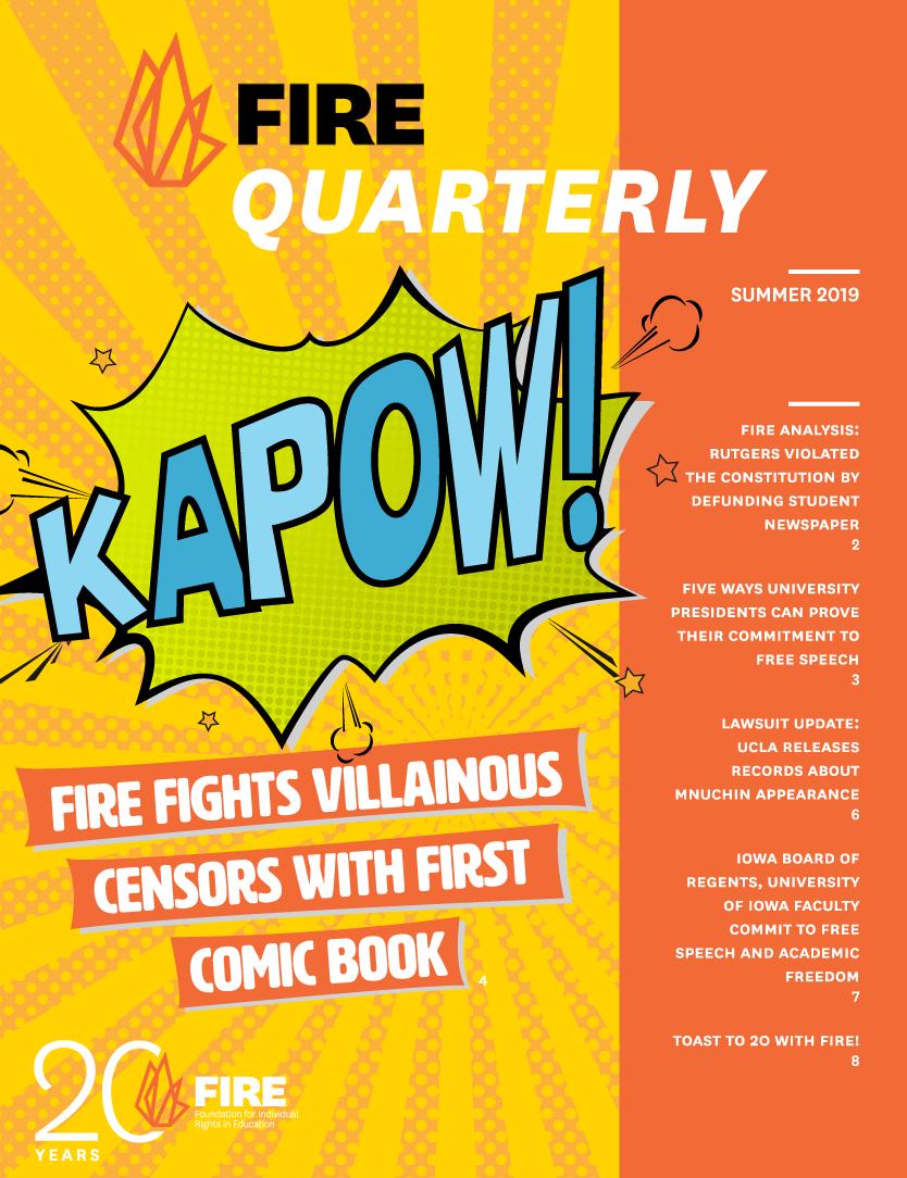 FIRE Quarterly Summer 2019