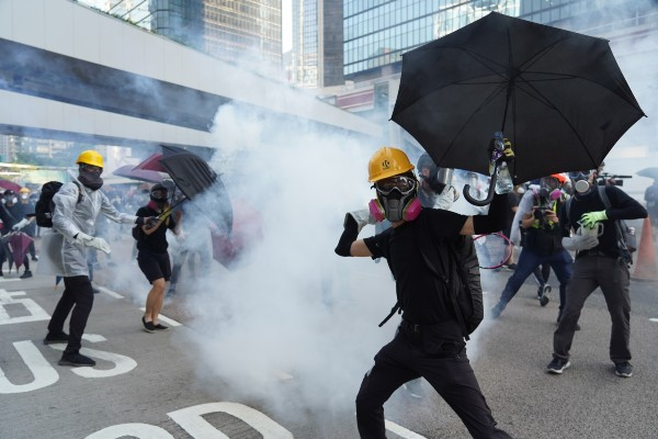 Hong Kong Free Speech Protest