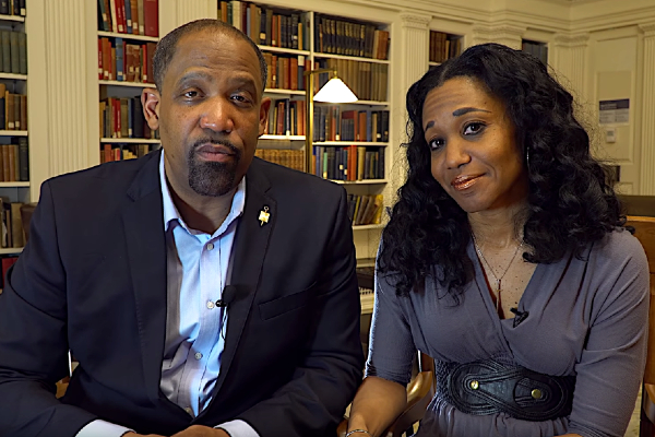 Harvard removed law professors Ronald Sullivan and Stephanie Robinson as faculty deans of a residential house after students expressed outrage that Sullivan briefly joined Harvey Weinstein's criminal defense team. (Credit: Ronald Sullivan Law)