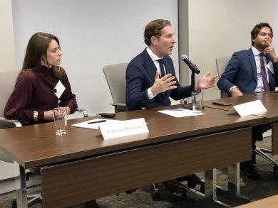 Francesca Procaccini, Noah Feldman & Jameel Jaffer