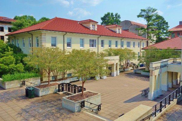 Emory University campus in Atlanta, Georgia.