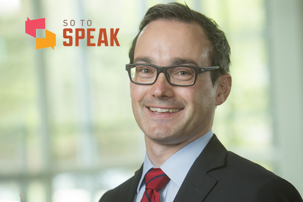 So to Speak podcast: 'Free speech and justified true belief' with professor Joseph Blocher