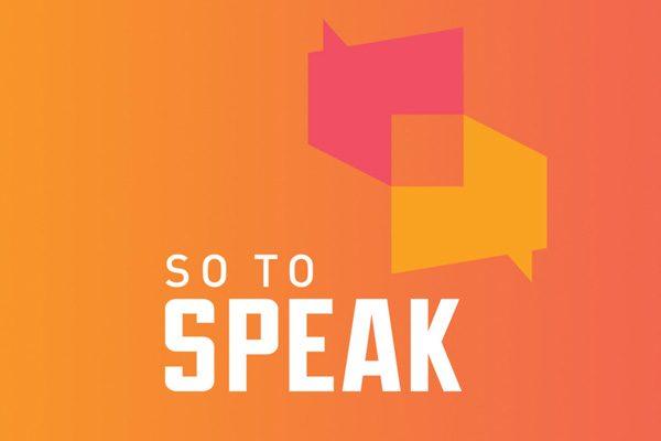 So to Speak: The Free Speech Podcast logo