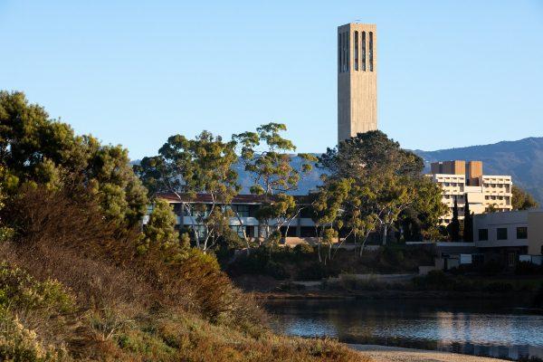 UC Santa Barbara's campus.