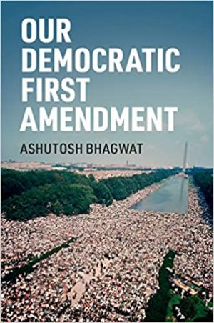 """Our Democratic First Amendment"" cover"
