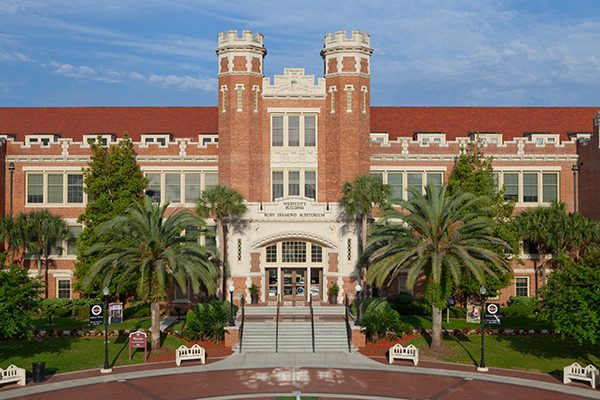 Florida State University revised its policies on free expression to earn the top free speech rating from the Foundation for Individual Rights in Education.