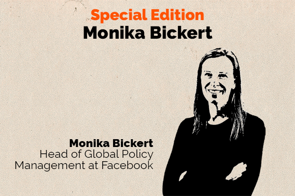 Clear and Present Danger podcast – Special Edition – Monika Bickert