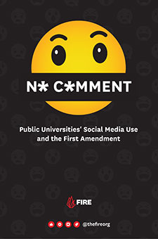 No Comment: Public Universities' Social Media Use and the First Amendment
