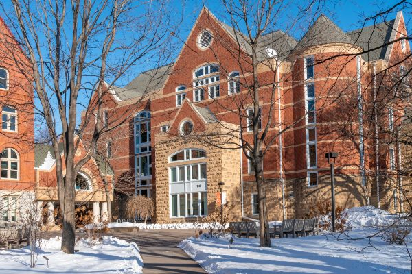 The Ruth Stricker Dayton Campus Center at Macalester College.