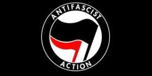 an Antifa logo