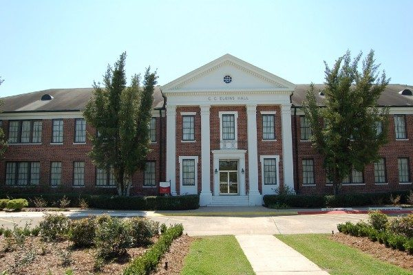 Elkins Hall at Nicholls State University.