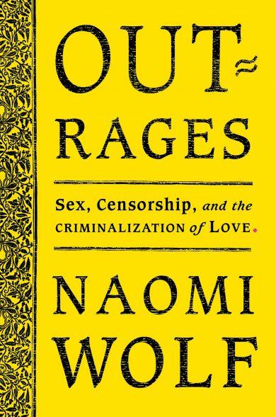 original 2019 cover of Outrages