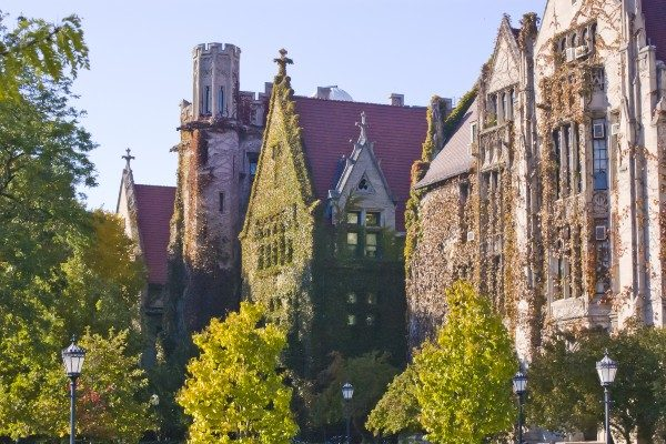 The University of Chicago campus