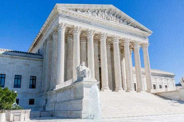 Supreme Court of the United States exterior