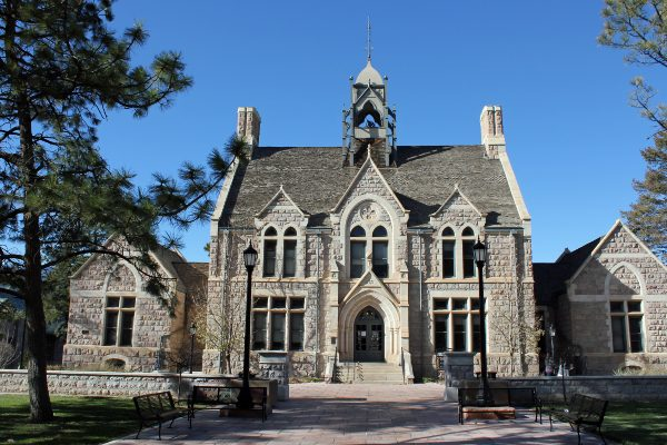Cutler Hall at Colorado College.