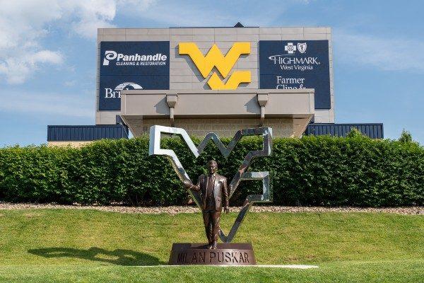 Milan Puskar Stadium at West Virginia University.