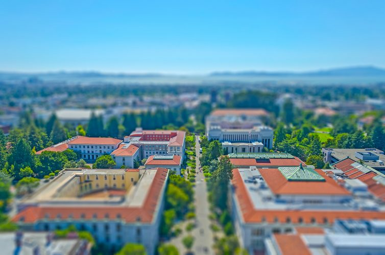 UC Berkeley Aerial Shot of Campus