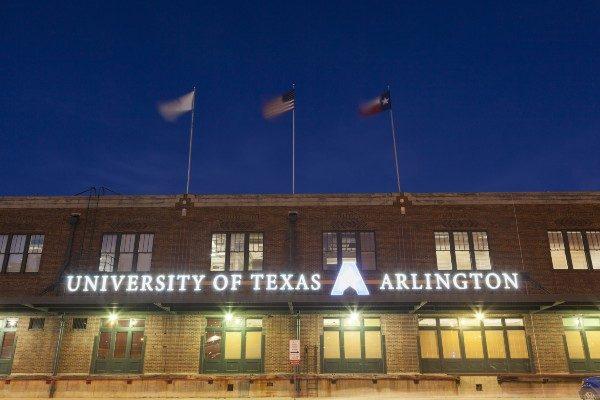 University of Texas Arlington campus shot