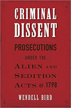 Criminal Dissent cover