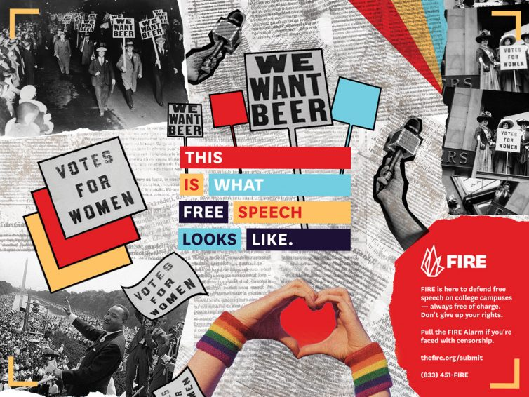 This Is What Free Speech Looks Like poster