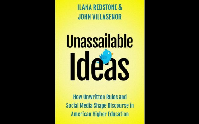 """The cover of the book """"Unassailable Ideas."""""""