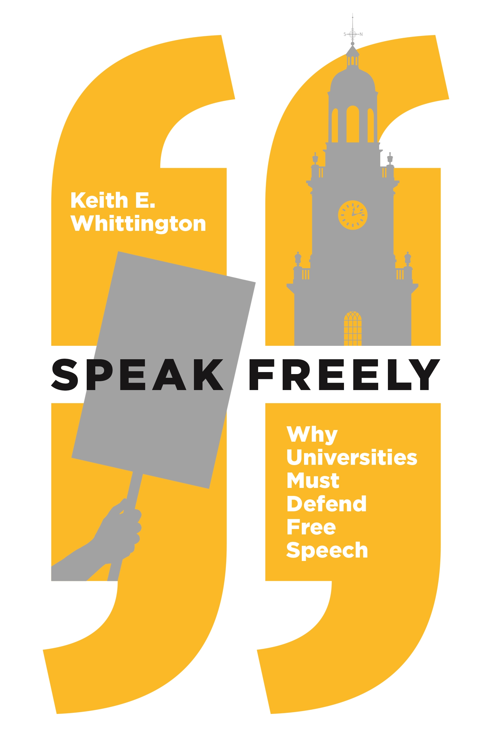 "The cover of Keith Whittington's book ""Speak Freely."""