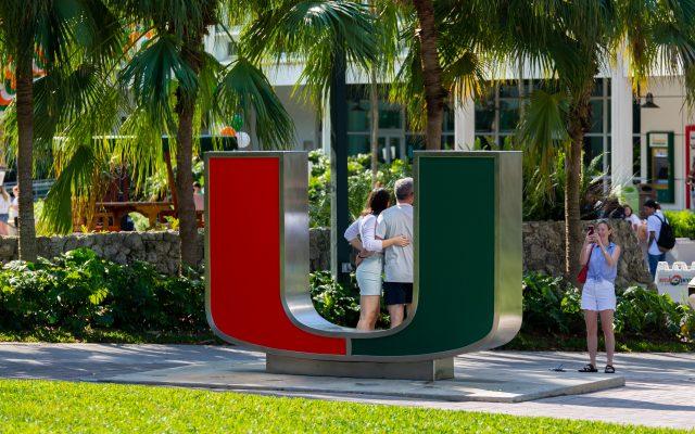 University of Miami campus.