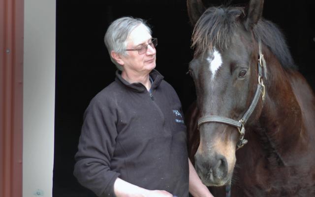 Jeff Klinzman and horse