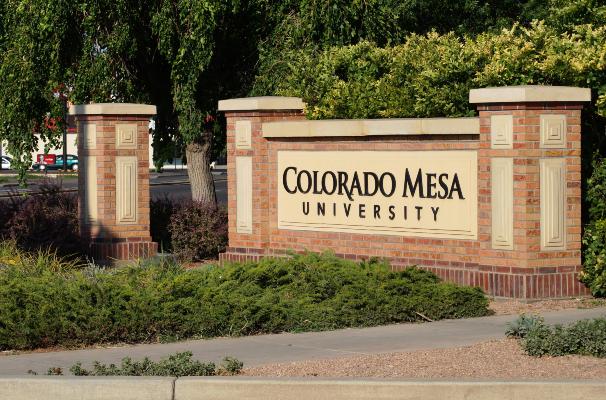 Colorado Mesa Entrance Sign