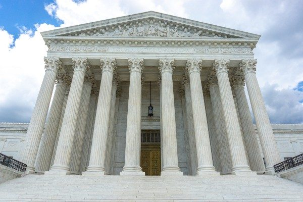 Supreme Court of the United States facade