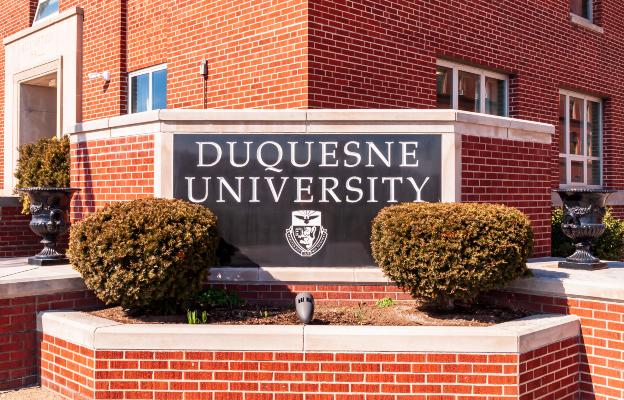 Duquesne University Sign