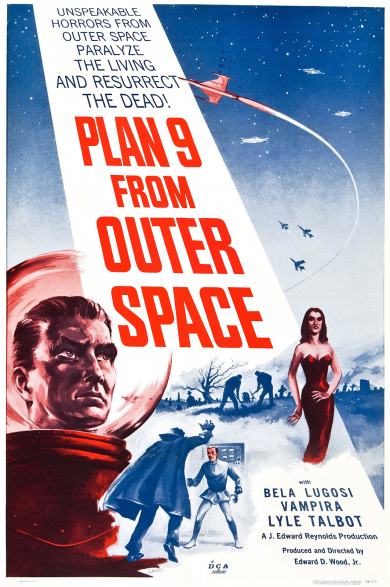 """""""Plan 9 From Outer Space"""" by Ed Wood"""