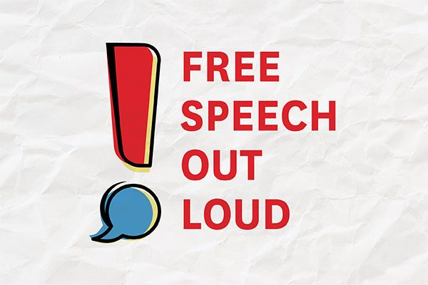 Free Speech Out Loud Podcast Logo