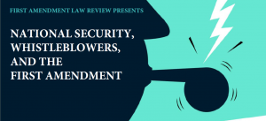 First Amendment Law Review symposium ad