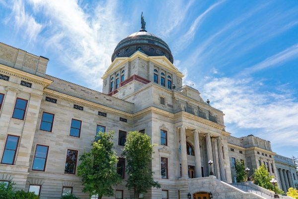 Montana State Capitol building in Helena, Montana.