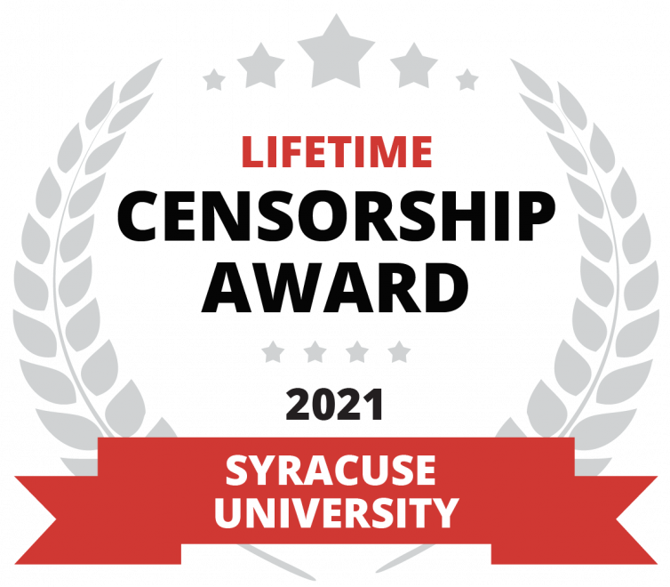 Lifetime Censorship Award seal