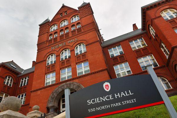 U Wisconsin Madison Science Hall