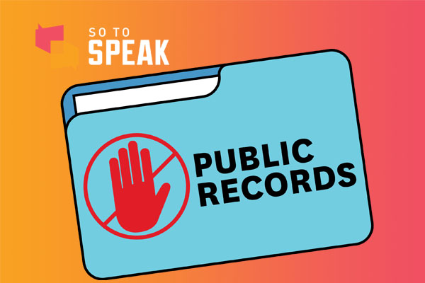So to Speak podcast: Stonewalling by the University of California