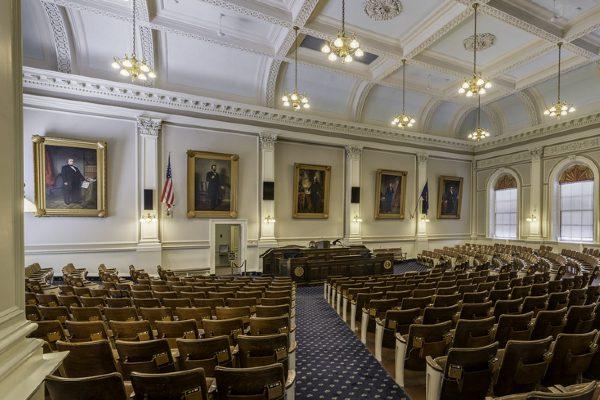 New Hampshire House of Representatives Chamber