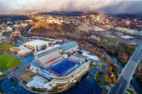 Boise State Aerial View
