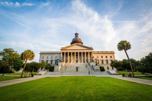 The South Carolina State House in Columbia, South Carolina
