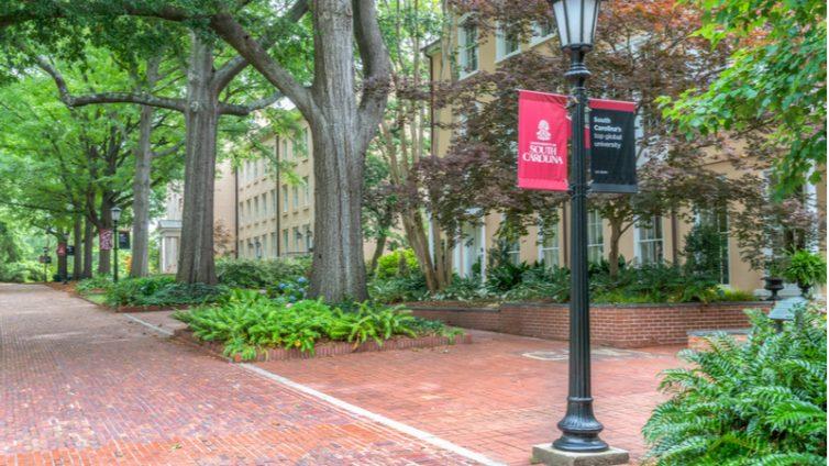 University of South Carolina Campus Ken Wolter / Shutterstock.com