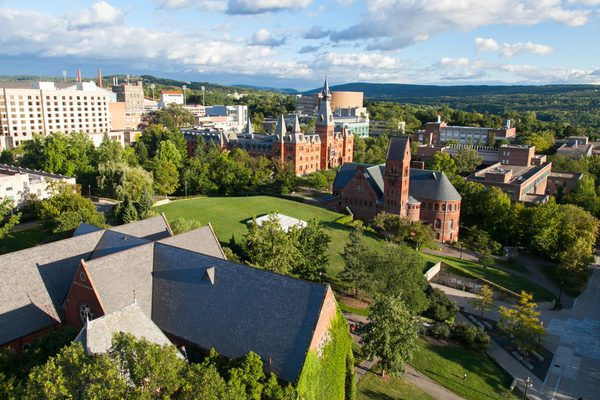 Cornell Campus aerial