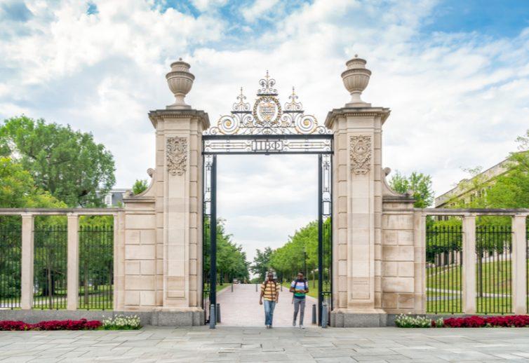 University of Arkansas gates